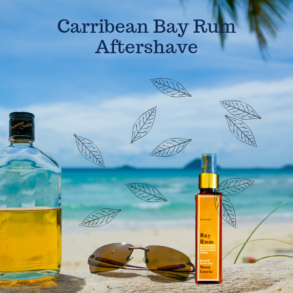 Bay Rum Aftershave logo