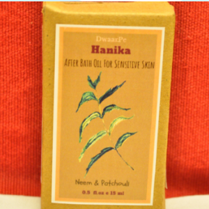 Hanika After-Bath Oil logo