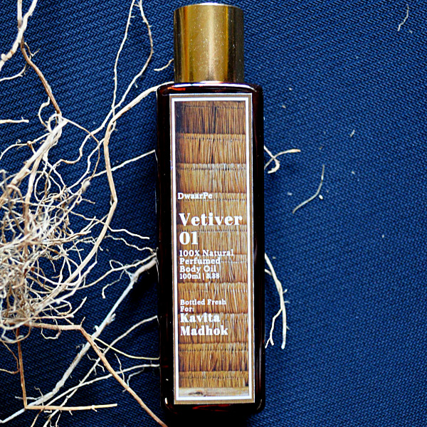 Vetiver 01 Perfumed Body Oil logo