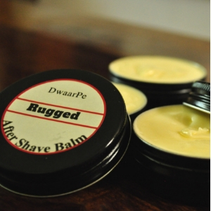 Rugged After-Shave Balm logo