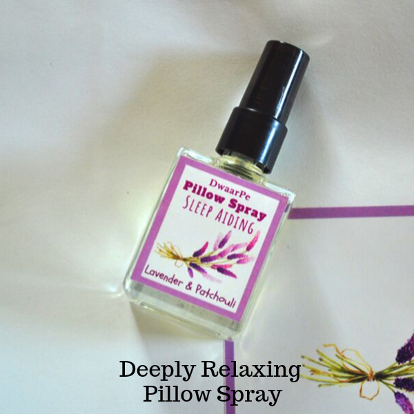Lavender & Patchouli Pillow Spray logo