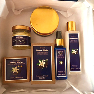Starry Night Bath Set logo