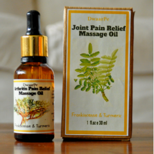 Joint Pain Relief Massage Oil logo