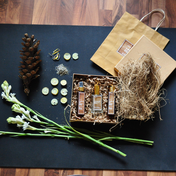 Vetiver 01 Personalised Fragrance Box