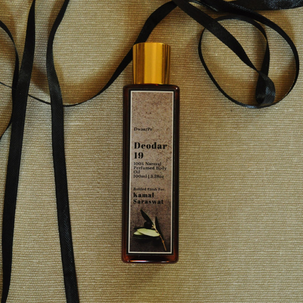Deodar 19 Perfumed Body Oil logo